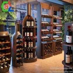 Винный шкаф дисплея Держатель для бутылок вина бутылку кабинета для установки в стойку индивидуальные вина винный погреб для монтажа в стойку