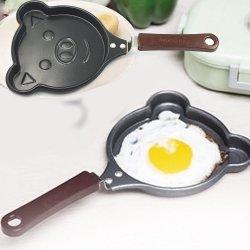 미니 사용자 정의 모양 달걀 비스틱 주철 프라이팬 머핀 팬
