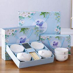 Vaisselle ensemble cadeau de mariage d'ouverture de la vaisselle en céramique Promotiontableware défini