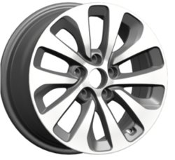 N6113 JXD Marken-Selbstersatzteil-Legierungs-Rad-Felgen-Replik-Auto-Rad für FIAT