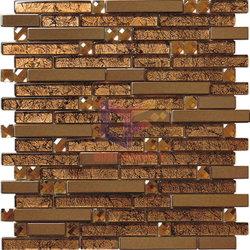 Mistura de metais de luxo do mosaico de vidro (CFM715)