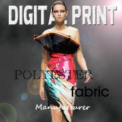Estremità superiore poli Digital di seta stampata