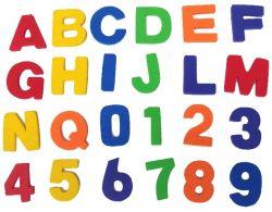 Letras y números Megnet