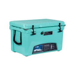 مبرد سيارات حرارية جليد KUer 45qt Freezer Table Food Delivery مبرد الثلج المحمول القابل للنقل على الثلج القابل للتبريد بقدرة 12 فولت لصندوق صيد السمك صندوق