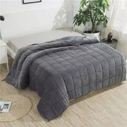 우수한 가정 소파, 휴대용 여행 담요 침대 시트 무겁게 한 담요