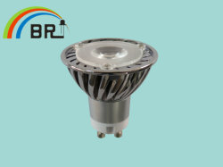 Gu10 1*3 Вт светодиодная лампа высокой мощности/Прожектор (BR-гу10P1WK3_W)