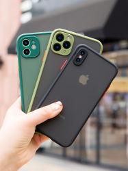 Nieuwe Perfecte Aanraking die Geval van de Telefoon van PC van de Manier van het Contrast van de Kleur van de Huid het Vriendschappelijke Ontwerp Berijpte Harde voor iPhone 11 Xs Maximum Xr X 7 8 voelen