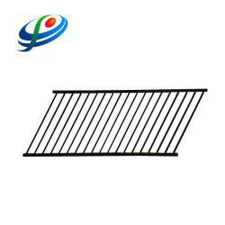 Valla de hierro fundido decorativo de diseño de valla de acero