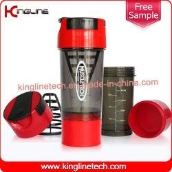 bottiglia di acqua 600ml con il setaccio di plastica & un contenitore inferiore (KL-7008)