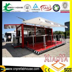 Ristorante/Camera prefabbricata prefabbricata del contenitore trasporto mobile modulare per il negozio