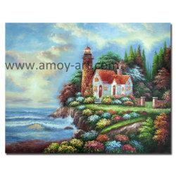 壁の装飾のためのトマスの庭の景色の油絵の再生