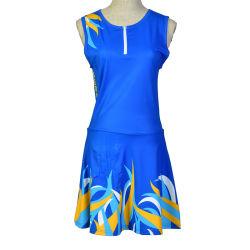 Healong Fancy de algodón barato al por mayor vestidos personalizados baloncesto