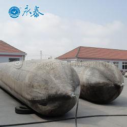 Airbag de elevação de borracha de acoplamento marinhos para o lançamento do navio Boat Pontoon