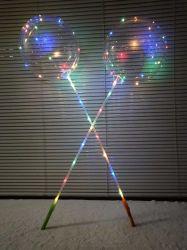 Décoration Hélium Ballon Clignotant LED gonflable de ballons en latex