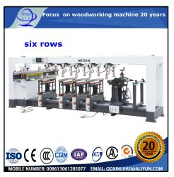Mz73212A la fabricación de muebles de madera Six-Row Máquina de Perforación/ Hoja de metacrilato y madera maciza de servicio pesado de la junta de la máquina de perforación de pozo profundo