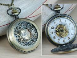 Diseño OEM Automatic reloj de bolsillo,