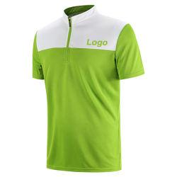 Cuello redondo Ciclismo Deporte 100% poliéster Polo Golf