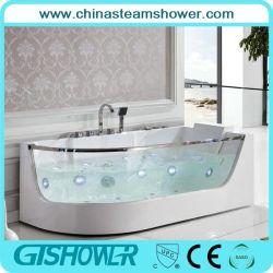 Glass Window (KF-652)の現代Whirlpool Bathroom Tubs