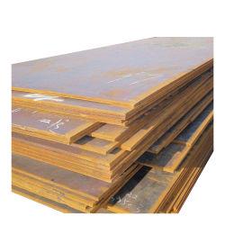 Plaques décoratives utilisé Corten un ASTM A588 de tôle en acier Corten