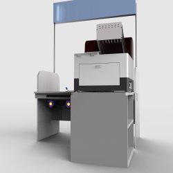自動か情報処理機能をもった試験管の点検し、分類の器械