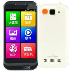 V818 teléfono inteligente con pantalla táctil Sos Iconos grandes cómodo funcionamiento