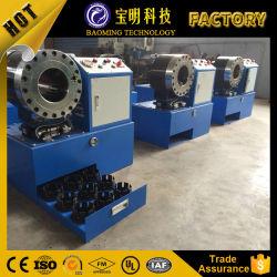 Гидравлический шланг обжимной станок/ резиновые бумагоделательной машины/шланга при нажатии кнопки станка