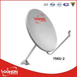 Offset 75 cm de la banda Ku, Antena Parabólica antena de televisión al aire libre
