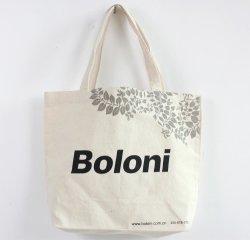 ショッピング(FLA-9731)のための優れた決め付けられた方法キャンバス袋/綿のトートバック