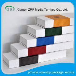 Custom напечатано прямоугольник картона, смешанною сандалового дерева упаковка Подарочная упаковка