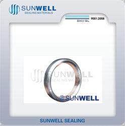 316L anneau ovale joint mixte