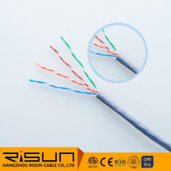 Cable LAN cable UTP Cat5e con Ce RoHS