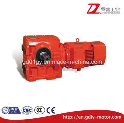 GS motoréducteur de ver de boîte de vitesses du réducteur à engrenages de grande portée du rapport de transmission