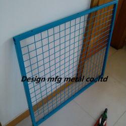 Сварной стальной сеткой и порошковым покрытием платформы, металлической сетки