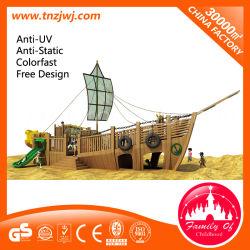 سفينة القراصنة الأطفال ميني لعبة ألعاب في الهواء الطلق للياردات الصغيرة