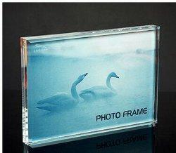 Freies Verschiffen-Tisch-Raum-Plexiglas Funia Rahmen-Foto mit Schrauben-Acrylfoto-Rahmen für Verkauf