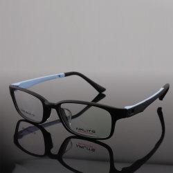 Neues Guangzhou-Fabrik-Zubehör-fördernde modische eindeutige Entwurfs-optische Rahmentr-quadratische Augen-Plastikgläser