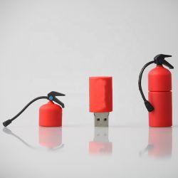 Настраиваемый логотип ПВХ огнетушитель привода пера USB флэш-накопителей USB ПВХ U диск