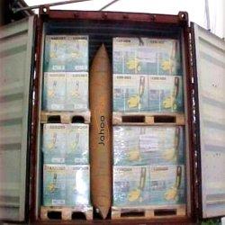 Het Luchtkussen van het Stuwmateriaal van de Container van het Document van kraftpapier voor Beschermend