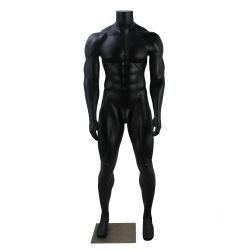 Haute qualité en fibre de verre de sexe masculin de tout le corps sans tête Strong Grand mannequin de muscle
