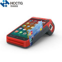 Android tout en un seul ordinateur de poche d'empreintes digitales POS WiFi+Terminal avec l'imprimante thermique (HCC-Z100C)