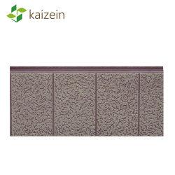 Materiale Del Nucleo In Pu Impermeabile/Ignifugo Metallo Intagliato Eco-Friendly Metal Siding For House