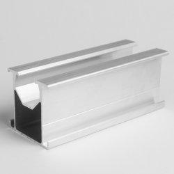 A6005T5 L'anodisation au Silver Auminum/profil aluminium extrudé pour châssis de module solaire Profil