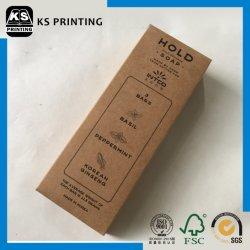주문을 받아서 만드는 선물 전시 포장 접히는 비누 포장 종이상자 인쇄