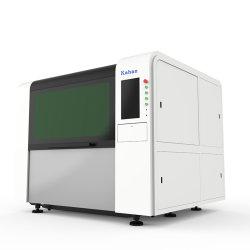 Alluminio CNC Engraving Equipment macchina per il taglio laser in fibra per acciaio inox Lamiera d'acciaio rame Ottone telaio di precisione tazze lavorazione mobili Pubblicità