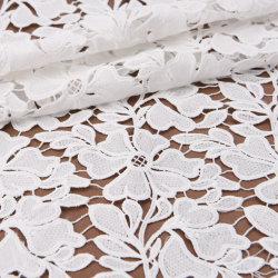 Tessuto floreale chimico ricamato solubile in acqua del merletto del Alberino-Consumatore