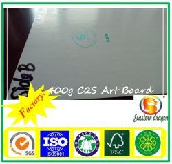 Hohes Kunstdruckpapier 80g des Glanz-C1s