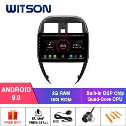 日産明るい2015年のためのWitsonのアンドロイド9.0車DVDの運行ビデオ