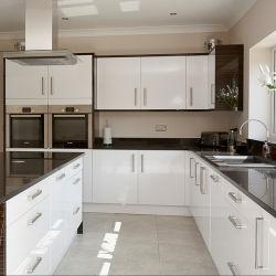 Белый и черный стиль вибрационного сита Австралии стандарт кухня шкафы цельной древесины