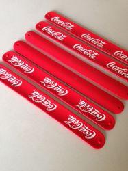 Rouge ou le logo de marque personnalisée Bracelets en Silicone
