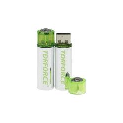 Wiederaufladbare 1,5V-Lithium-AA-Batterie mit USB-Anschluss und FCC-Zulassung